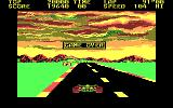 Pole Position II DOS Game Over (CGA)