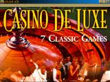 Casino De Luxe Windows 3.x Title Screen