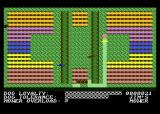 Hover Bovver Atari 8-bit Started mowing the first yard...