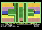 Hover Bovver Atari 8-bit Careful not to mow the flowers!