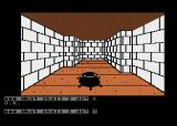 Scott Adams' Graphic Adventure #4: Voodoo Castle Atari 8-bit Hmm, there is some kind of cauldron here...