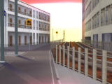 Love Death 3: Realtime Lovers Windows Strange signs, streetcar tracks, empty city... where am I?..