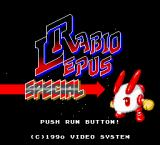Rabbit Punch TurboGrafx-16 Title screen