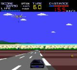 Knight Rider Special TurboGrafx-16 Now fighters drop down bombs on you.