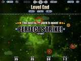 Imperfect Balance HD iPad Level completed with a Perfect Strike, i.e. the player destroyed all blocks