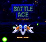 Battle Ace SuperGrafx Title screen