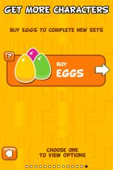 Time Geeks: Cloneggs iPhone And for people who don't actually like to play their games, there's always the option of just buying the eggs instead of winning them fairly.