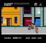 Mighty Final Fight NES Players go Bug Eyed when hit