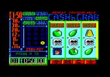 Arcade Fruit Machine Amstrad CPC Game started