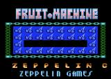 Arcade Fruit Machine Atari 8-bit Title screen