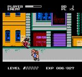 Mighty Final Fight NES Guy Jumping