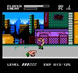 Mighty Final Fight NES Haggar's powerful Suplex moves