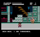 Mighty Final Fight NES He is Thrasher