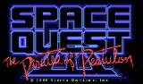 Space Quest III: The Pirates of Pestulon Macintosh Space Quest III - Title Screen