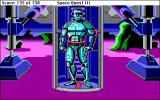 Space Quest III: The Pirates of Pestulon Macintosh Arnoid is annoyed