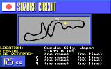 The Cycles: International Grand Prix Racing DOS Lap - Suzuka Circuit (EGA)