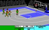 Fast Break DOS Starting a game (Tandy 16 colors, 320x200)