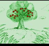 Bakuden: Unbalance Zone TurboGrafx CD Lovely picture of a tree