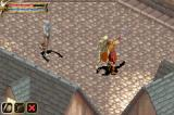 Baldur's Gate: Dark Alliance Game Boy Advance Fighting a zombie and a ghoul