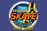 Disney's Extreme Skate Adventure Game Boy Advance Title screen
