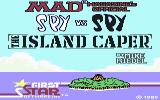 Spy vs. Spy: The Island Caper Commodore 64 Title