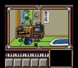 Bakuden: Unbalance Zone SEGA CD Our protagonist, playing with his Mega CD