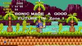 "Sonic CD Windows If the player can make a Good Future in all zones, or collects all time stones, he'll get the ""good"" ending"