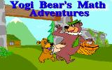 Yogi Bear's Math Adventures DOS Title screen (VGA)