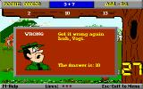 Yogi Bear's Math Adventures DOS Oops, got a question wrong! (VGA)