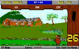 Yogi Bear's Math Adventures DOS There are multiple levels of problem difficulty (VGA)