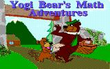 Yogi Bear's Math Adventures DOS Title screen (EGA)