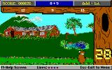 Yogi Bear's Math Adventures DOS Answering math questions... (EGA)