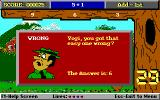 Yogi Bear's Math Adventures DOS Oops, got a question wrong! (EGA)