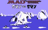 Spy vs. Spy III: Arctic Antics Commodore 64 Title, part one