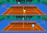 Davis Cup Tennis TurboGrafx CD ...and competing