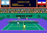 Davis Cup Tennis TurboGrafx CD Double team