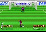 Formation Soccer 95 della Serie A TurboGrafx CD Penalty kick