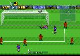 Formation Soccer 95 della Serie A TurboGrafx CD Nice save!