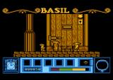 Basil the Great Mouse Detective Atari 8-bit Starting the game