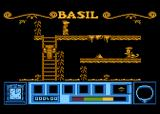 Basil the Great Mouse Detective Atari 8-bit Up the ladder