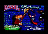Basil the Great Mouse Detective Amstrad CPC Loading screen