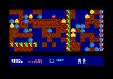 Rockford: The Arcade Game Amstrad CPC Oh! An enemy!