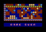 Rockford: The Arcade Game Amstrad CPC I lost all my lives. Game over.