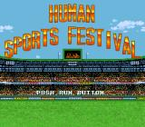 Human Sports Festival TurboGrafx CD Title screen