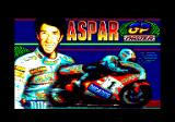 Grand Prix Master Amstrad CPC Loading screen (Spanish version)