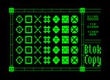 Blok Copy Commodore PET/CBM The starting layout