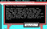 Mavis Beacon Teaches Typing! DOS Chalkboard (CGA / Mouse supported version)