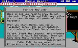 Mavis Beacon Teaches Typing! DOS Help for the new users (EGA / Mouse supported version)