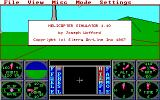 Sierra's 3-D Helicopter Simulator DOS Title version 1.10 (EGA/Tandy/MCGA)