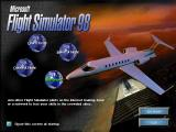 Microsoft Flight Simulator 98 Windows The initial screen. This is shown when the simulation first loads. It can be suppressed if required
